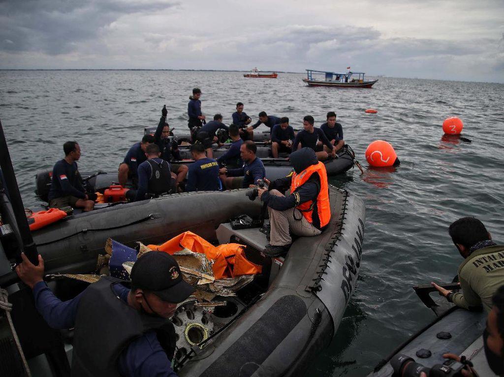 Hari ke-9, Sektor Pencarian Sriwijaya Air SJ182 Dipersempit