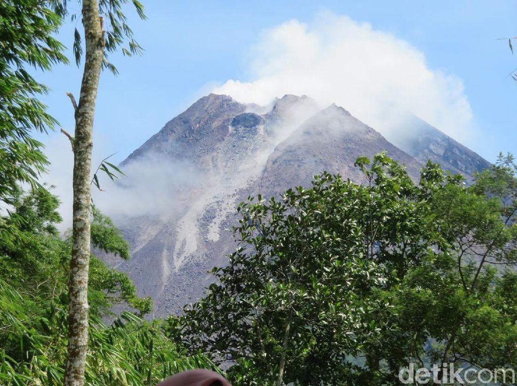 BPPTKG Ungkap Kondisi Terkini Pertumbuhan 2 Kubah Lava Gunung Merapi