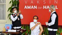 Media Asing Ramai Beritakan Momen Jokowi Disuntik Vaksin Corona