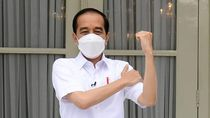 Jadi Orang Pertama RI yang Divaksin Corona, Apa Kesan Jokowi?