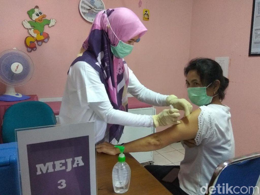 Gelar Simulasi, Begini Alur Penyuntikan Vaksin COVID-19 di Kota Cimahi