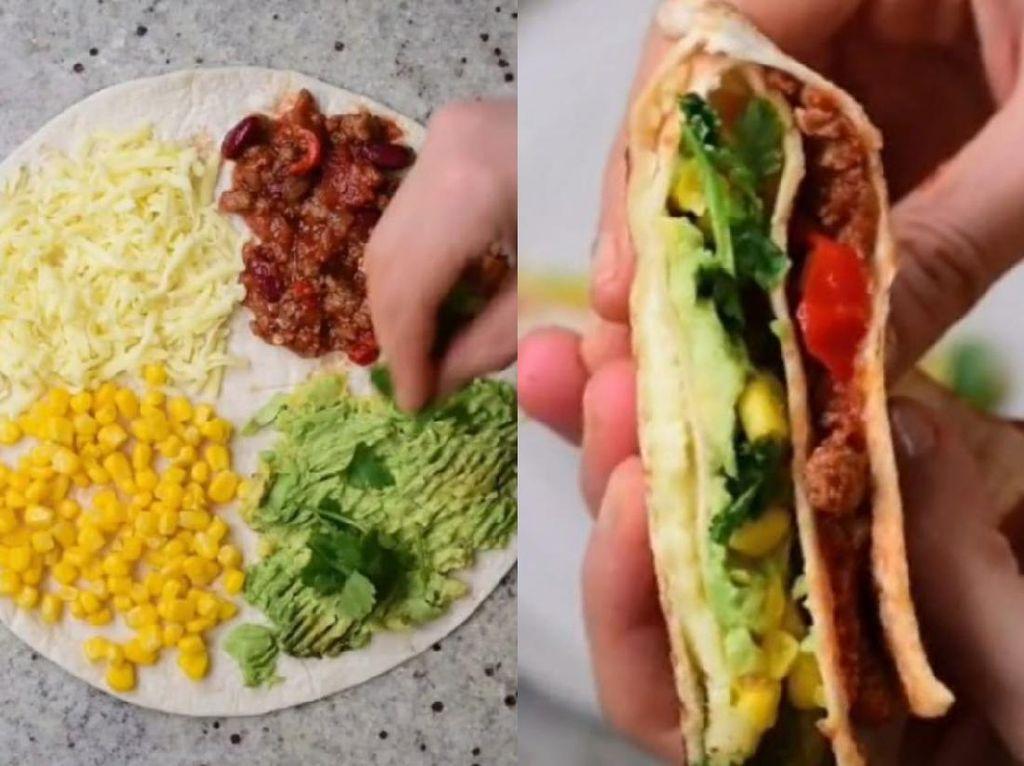 Tortilla Wrap Viral di TikTok, Begini Cara Bikinnya