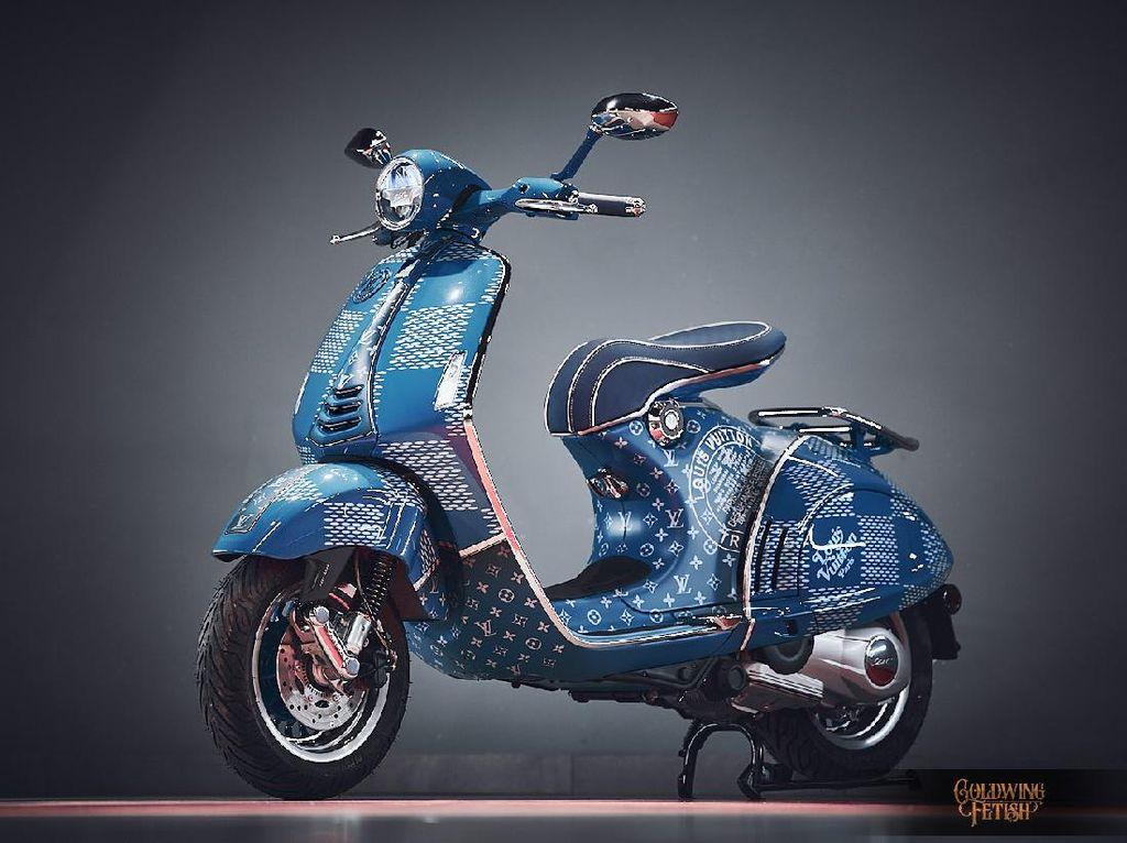 Eksklusif, Vespa 946 Louis Vuitton Cuma Ada Satu di Dunia