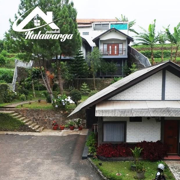 Potret villa mewah milik Lesti Kejora yang ada di Lembang Bandung.