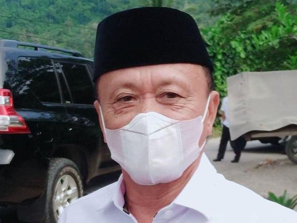 Bupati Mamuju Tengah Positif Corona, Jalani Perawatan di Makassar