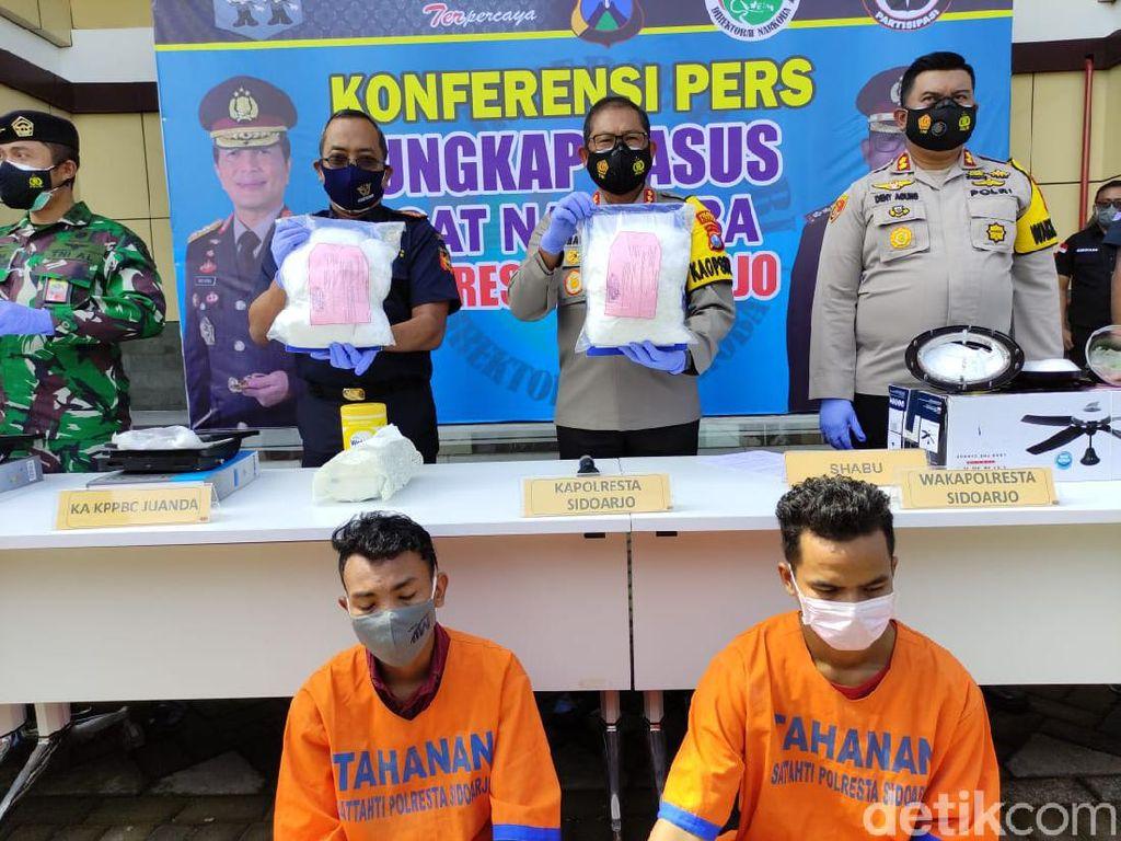 Bawa 6 Kg Sabu dan Ekstasi, 2 Penumpang Pesawat dari Malaysia Diamankan