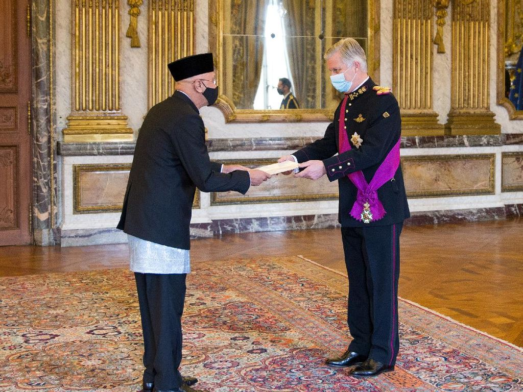 Bahas Miyak Sawit, Dubes RI Serahkan Surat Kepercayaan ke Raja Belgia