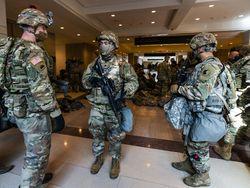 150 Tentara Garda Nasional Positif Corona Usai Jaga Pelantikan Biden