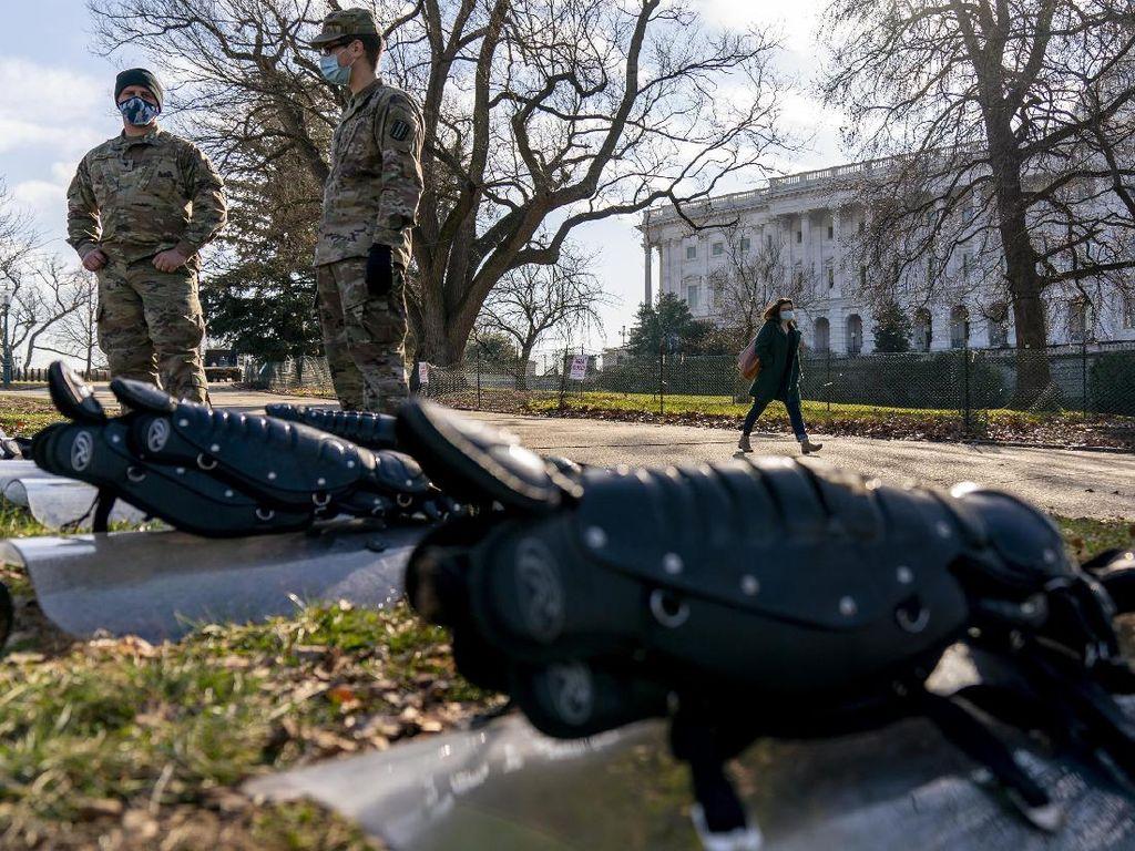 Washington DC Lockdown, Jalan Ditutup-Penjagaan Ketat!