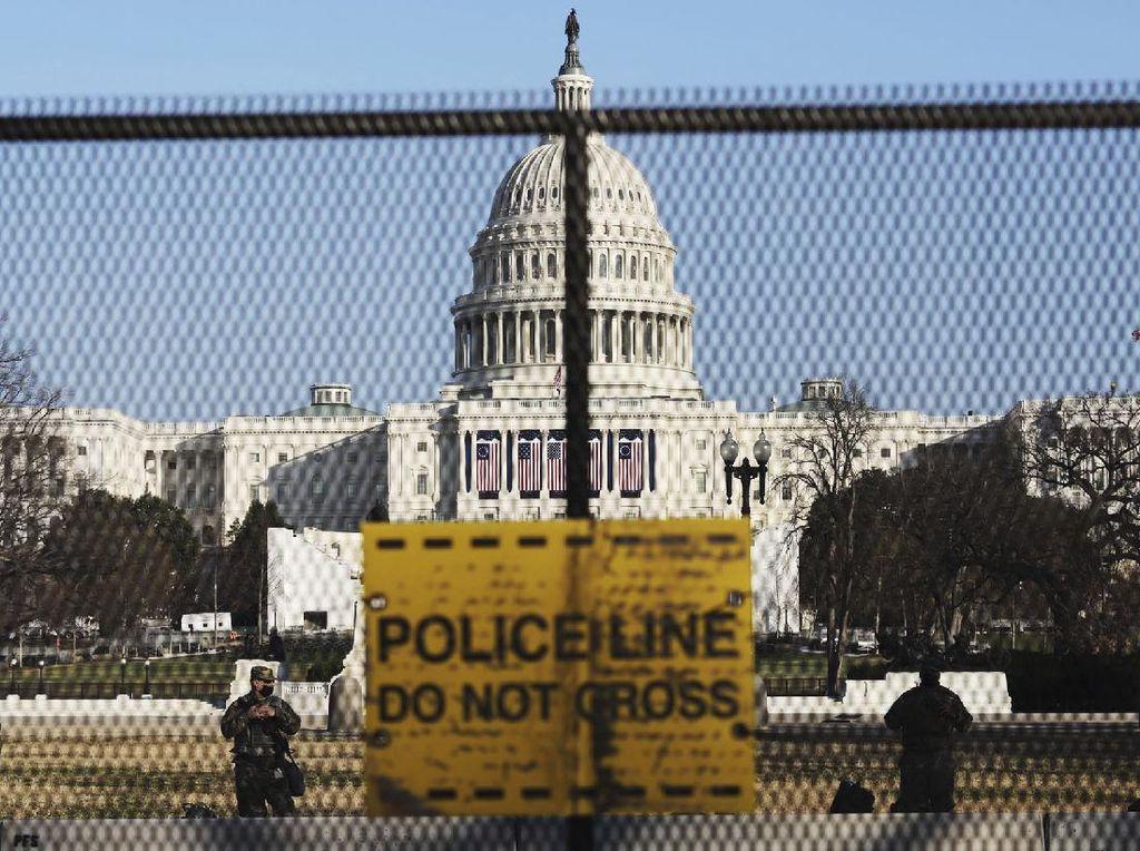 Ibu Kota Amerika Serikat Di-lockdown Jelang Pelantikan Joe Biden