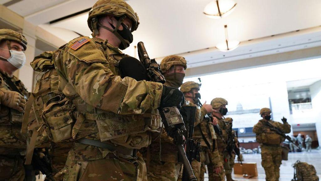 Garda Nasional Perketat Pengamanan Gedung Capitol