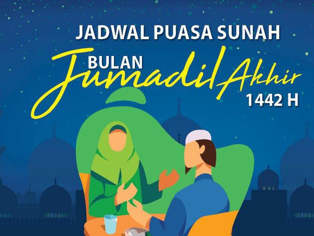 Jadwal Puasa Sunah Bulan Jumadil Akhir 2021/1442 H