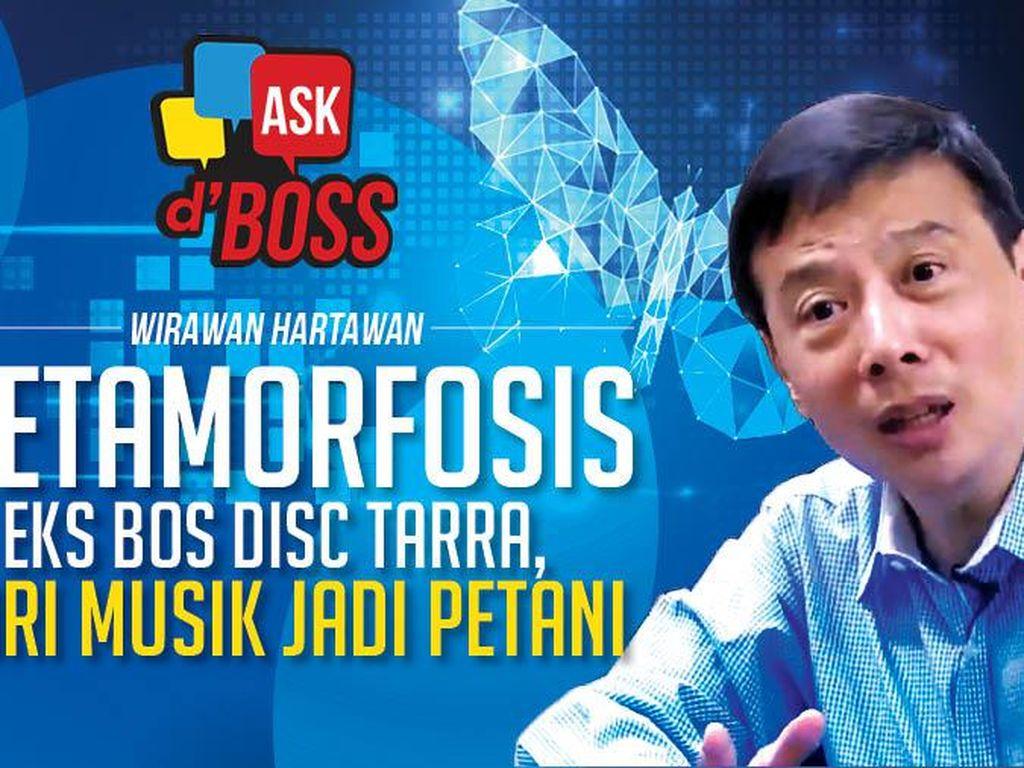 Simak Wawancara Eks Bos Disc Tarra yang Banting Setir Jadi Petani Besok!