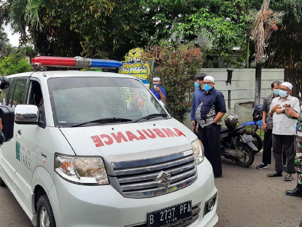 Jenazah Syekh Ali Jaber Tiba di Rumah Duka di Pulogadung Jaktim