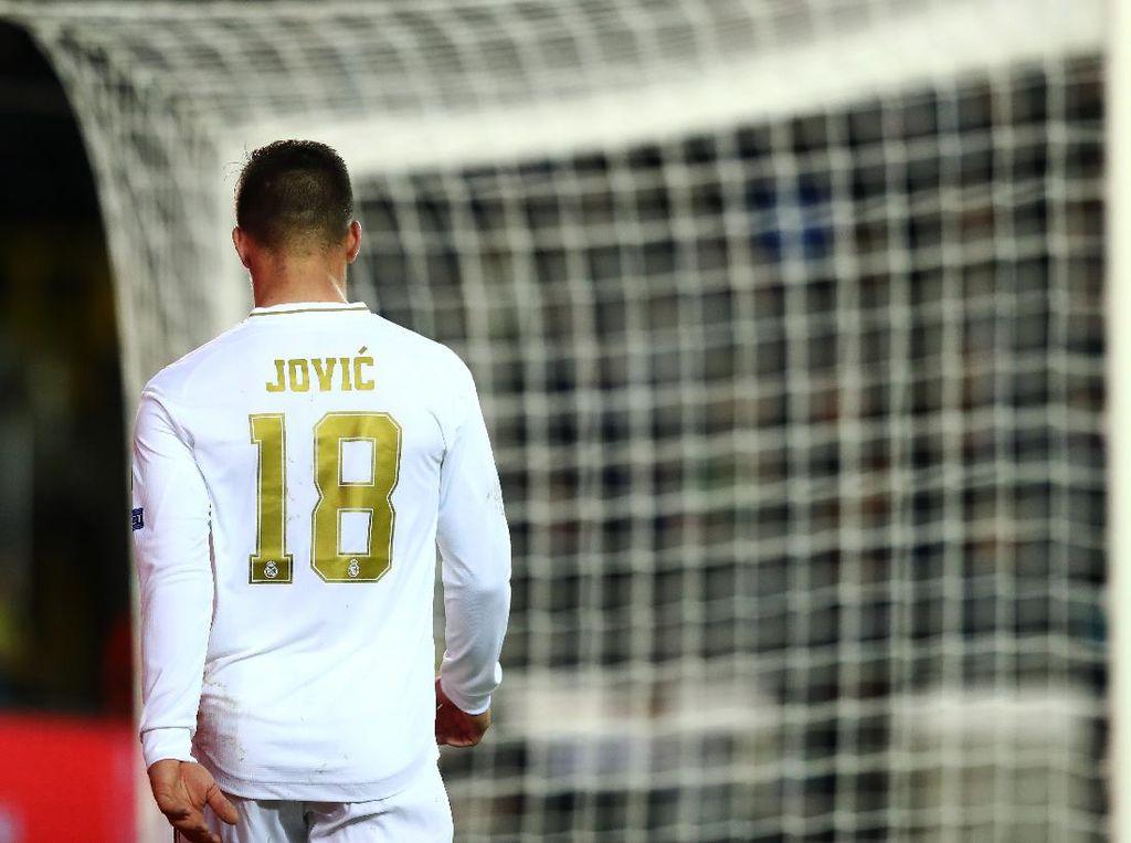 Luka Jovic Segera Pergi, Zidane: Dia Sulit Adaptasi di Madrid