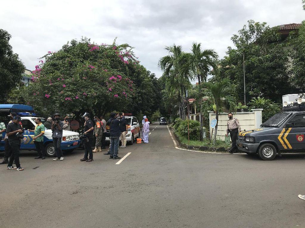 Ratusan Polisi Berjaga di Rumah Syekh Ali Jaber, Antisipasi Kerumunan