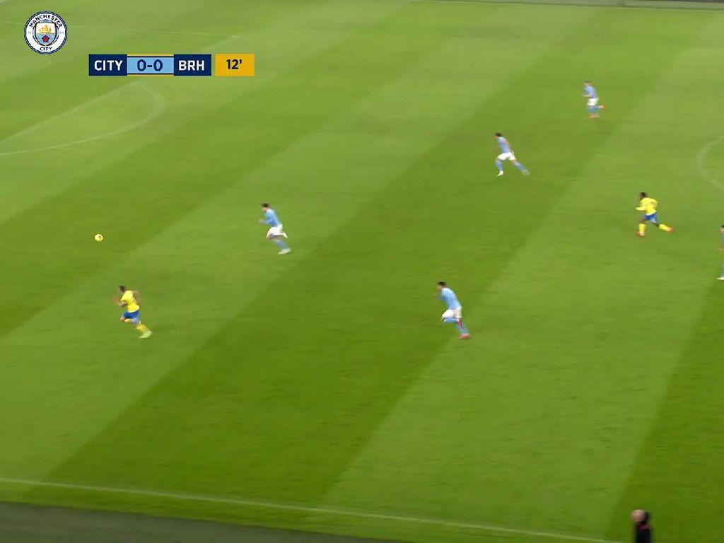 Video Manchester City Vs Brighton, Kayak Gini Peluang dan Golnya