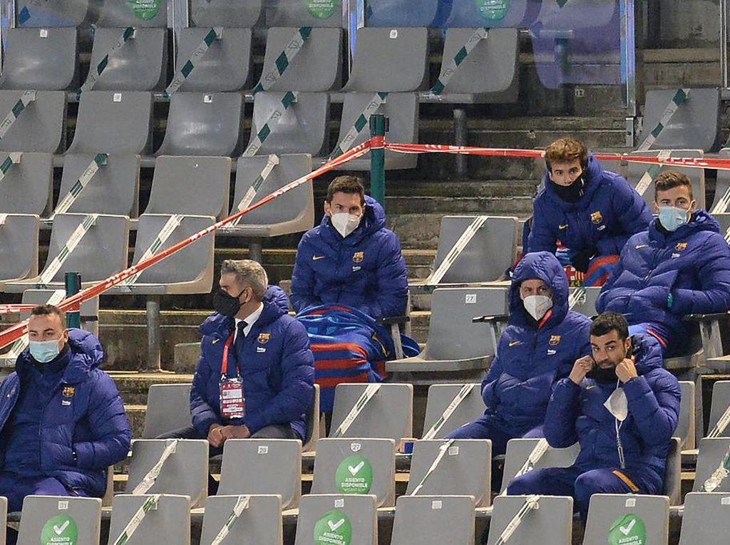 Lionel Messi Bisa Comeback di Final Piala Super Spanyol?