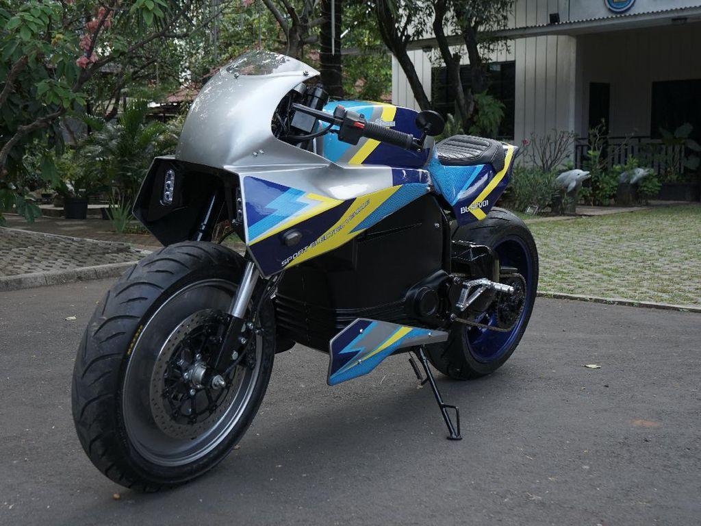 Anti Mainstream, Ini Penampakan Motor Sport Listrik Universitas Budi Luhur