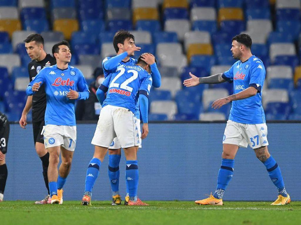 Coppa Italia: Kalahkan Empoli, Napoli Susul Inter ke Perempatfinal