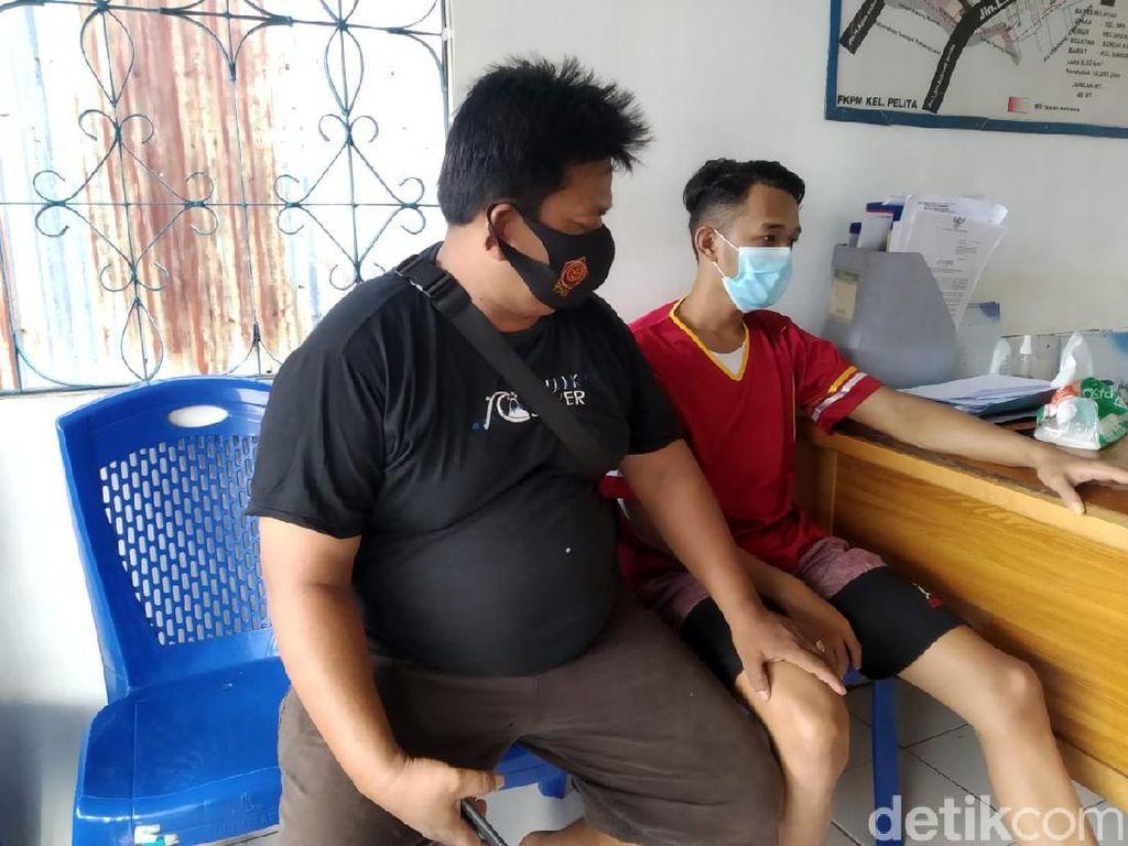 Tak Terima Istri Ditegur, Pria di Samarinda Tega Hajar Ibu Kandung