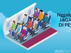 Podcast: Nggak Ada Lagi Jaga Jarak di Pesawat?