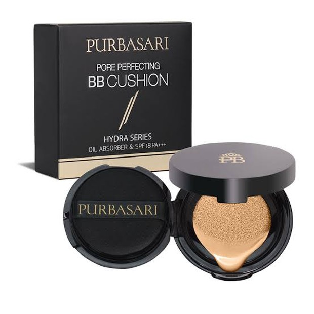 Purbasari pore perfecting bb cushion