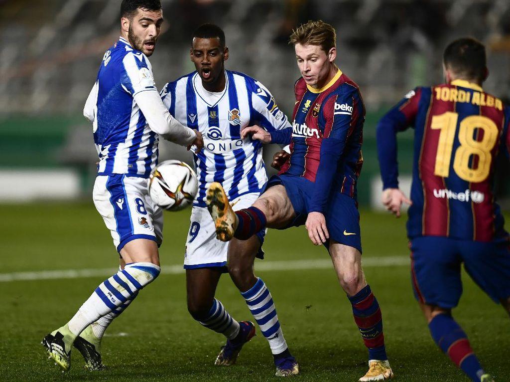 Drama Kemenangan Barcelona atas Real Sociedad