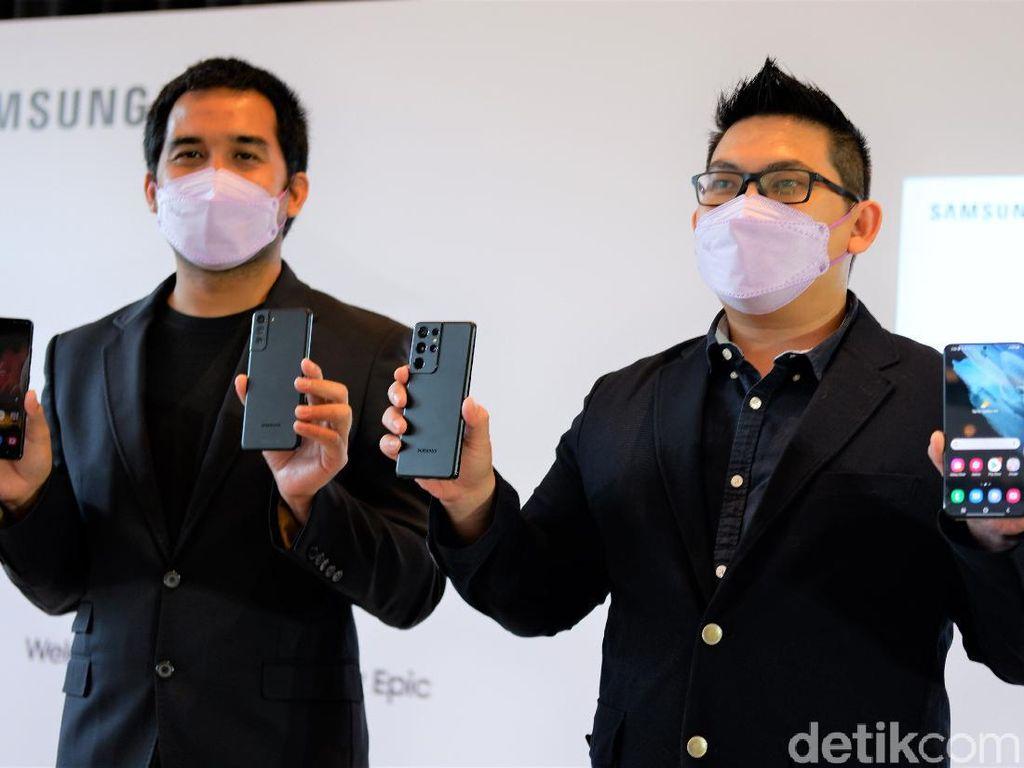 Samsung Galaxy S21, S21 Plus dan S21 Ultra Resmi Dirilis