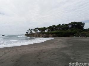 Ada Spot Menawan Baru di Pantai Batu Hiu Pangandaran, Penasaran?