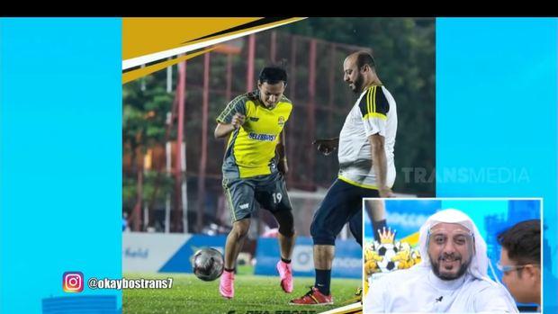 syekh ali jaber sepakbola raffi ahmad