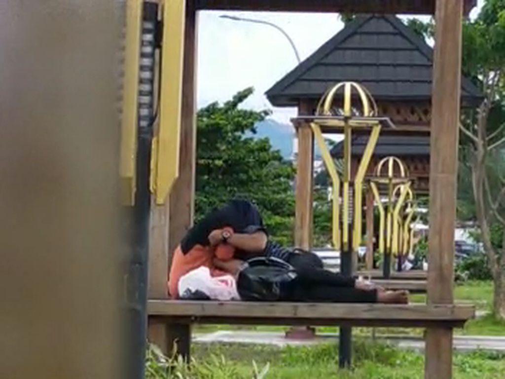 Viral Video Mesum Muda-Mudi di Taman Kota Parepare Sulsel, Polisi Selidiki