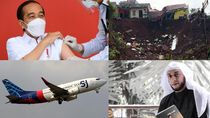News of The Week: Indonesia Dilanda Bencana-Jokowi Divaksinasi