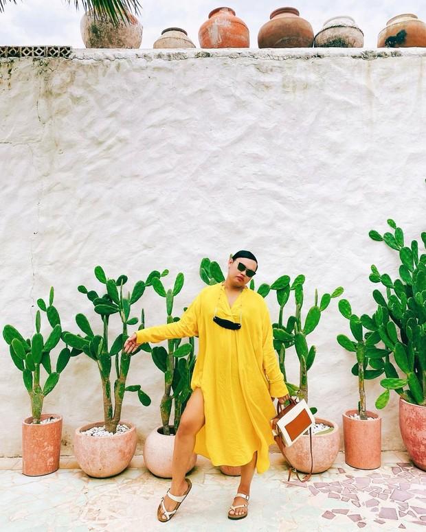 Wanda Haraa bergaya swag /instagram.com/wanda_haraa