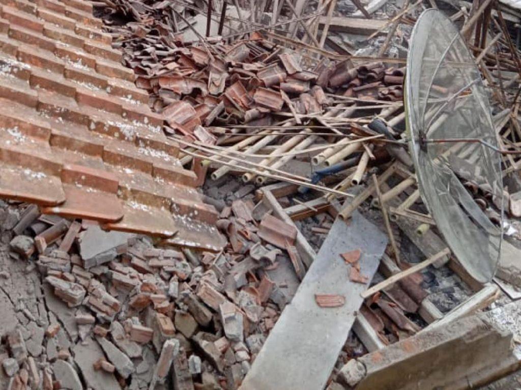 2 Rumah Ambruk dan Belasan Lainnya Rusak Akibat Tanah Gerak di Purworejo