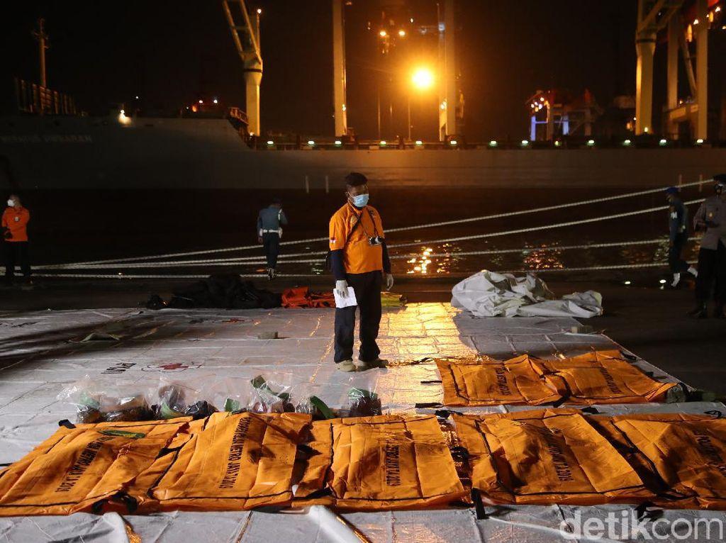 4 Korban Sriwijaya Air SJ182 Belum Teridentifikasi, Salah Satunya Bayi