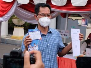 Ketua DPRD Surabaya Divaksin: Tidak Ada Reaksi Apa Pun, Bukti Vaksin Aman