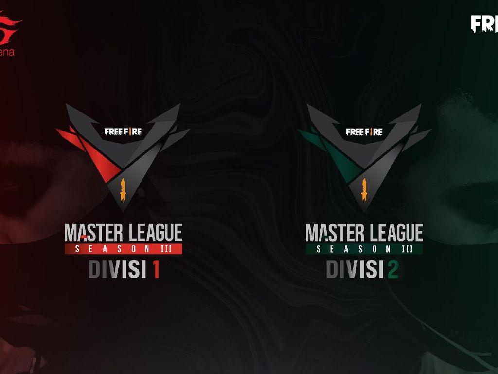 Free Fire Master League Season III Digelar, Total Hadiah Rp 1,5 Miliar!