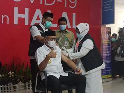 Penyuntikan Vaksin Corona di Aceh Dimulai, Gubernur Disuntik Pertama