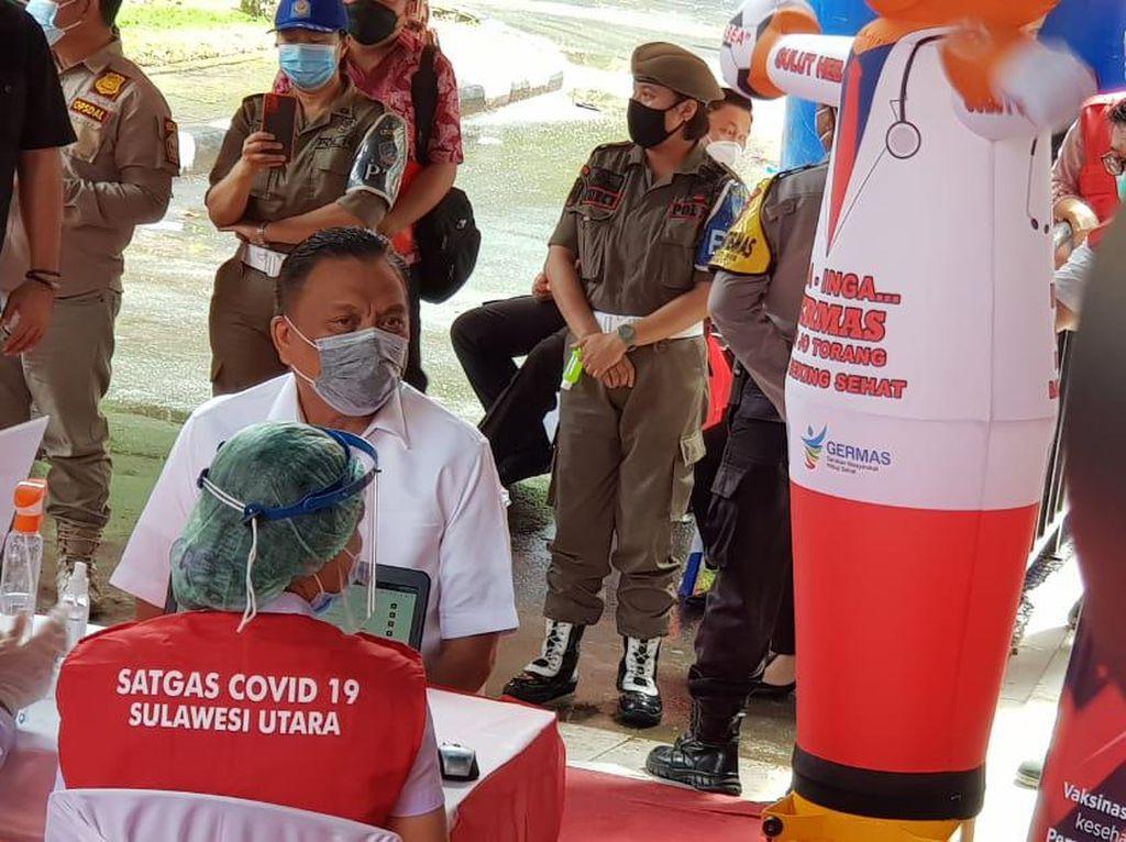Gubernur Olly Batal Jadi Orang Pertama yang Divaksin Corona di Sulut
