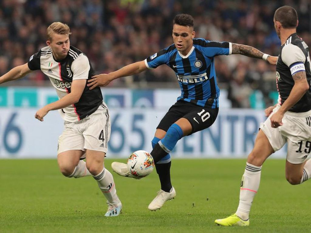 Inter Vs Juventus: Si Ular Dihantui Rekor Buruk