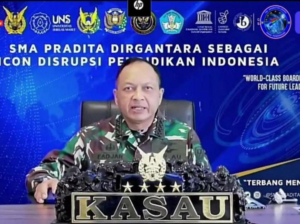Lewat SMA Pradita Dirgantara, TNI AU Siap Dukung Program Indonesia Emas 2045