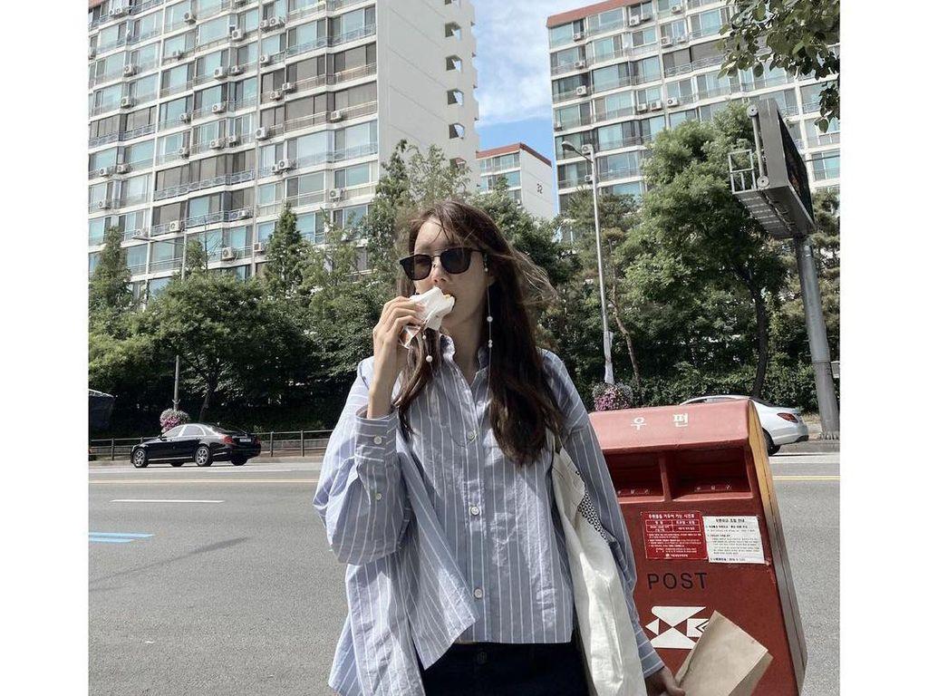 Lee Ji Ah, Bintang Drakor The Penthouse yang Gemar Foto Makanan
