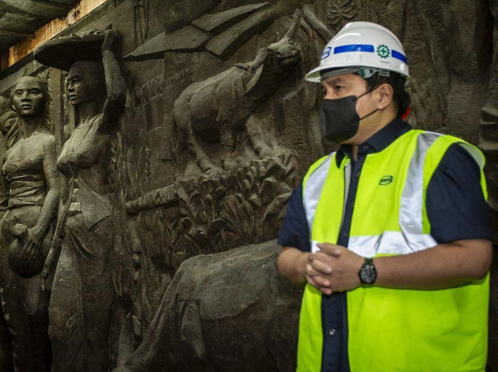Melacak Jejak Seniman Pembuat Relief di Gedung Sarinah