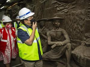 Menguak Misteri Pematung Relief Sarinah, Asal Jogja Atau Rusia?