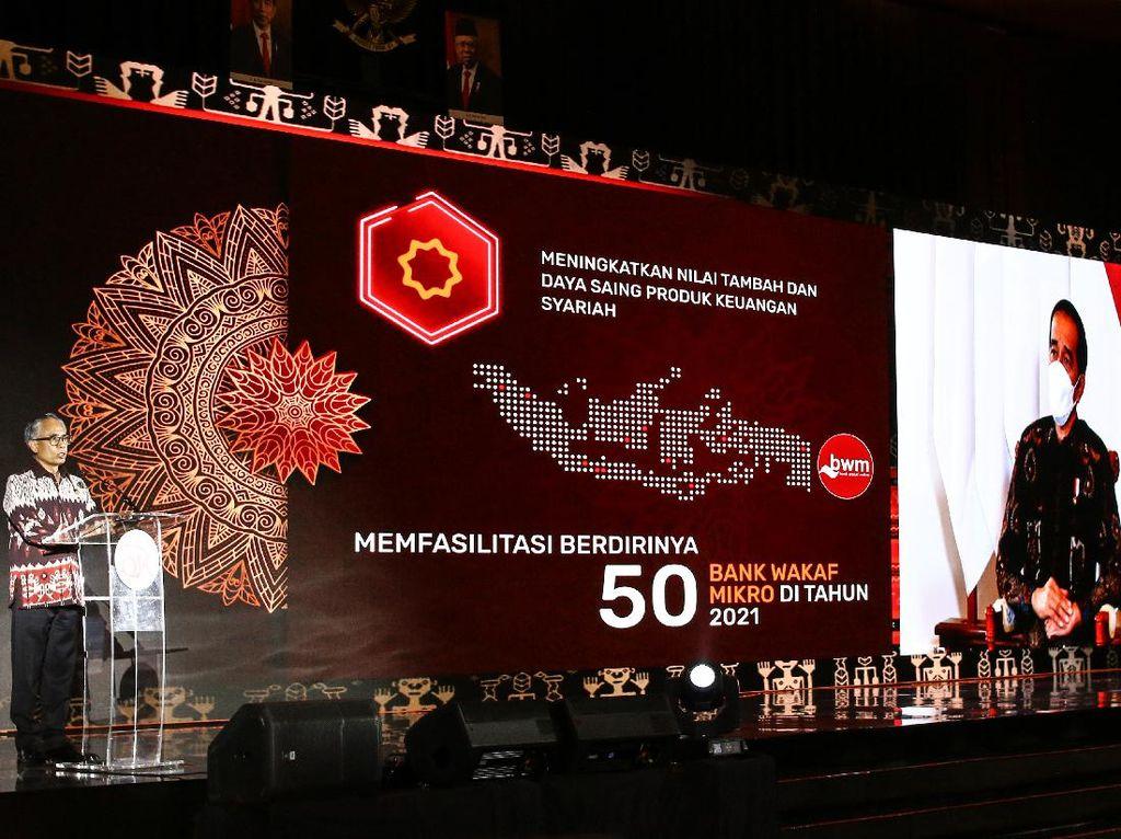 Jokowi Hadiri Pertemuan Tahunan OJK Via Daring