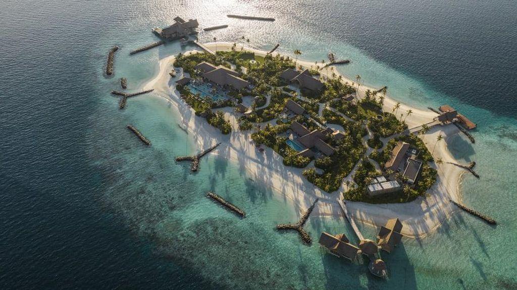 Potret Pulau Pribadi yang Harga Sewanya Rp 1,1 M Semalam