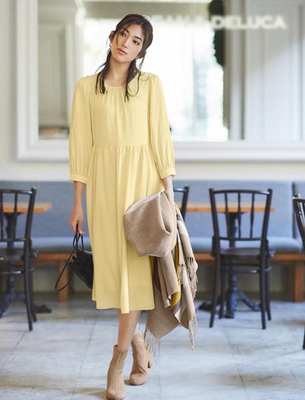 rayon georgette flare dress