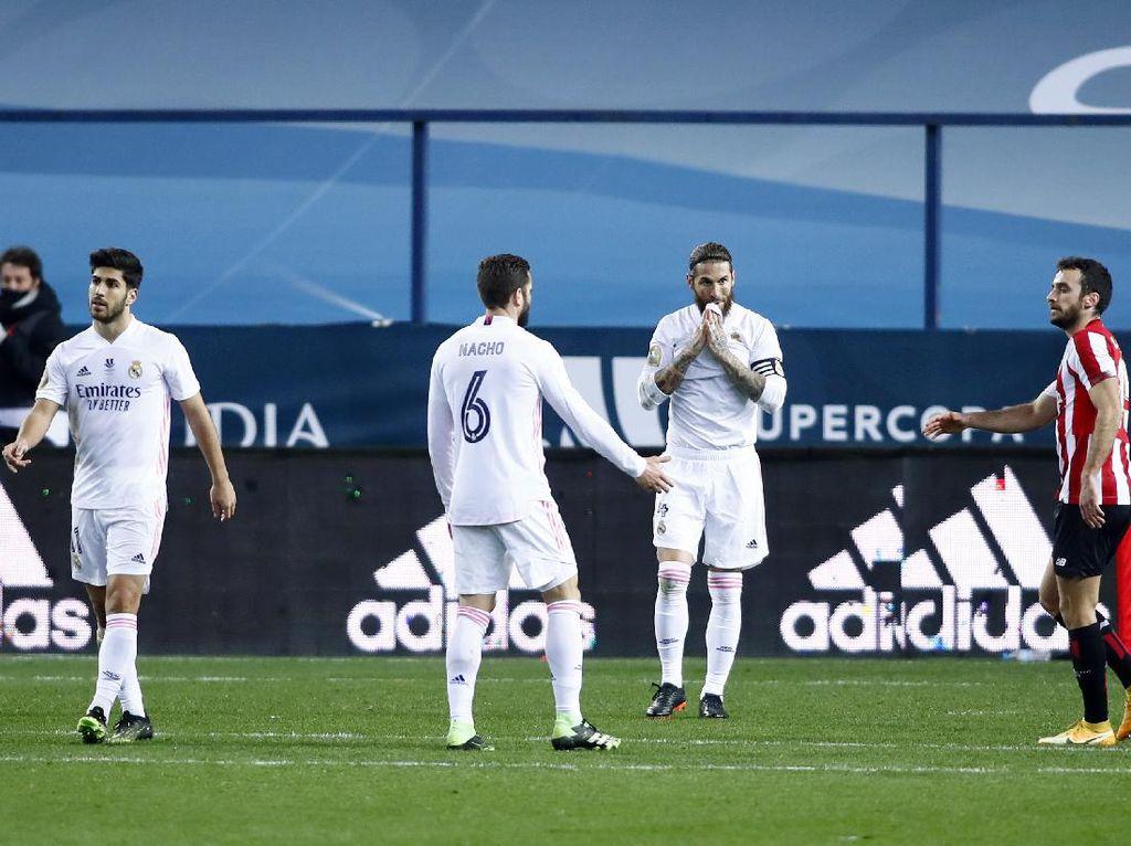 Real Madrid Ambyar di Babak Pertama