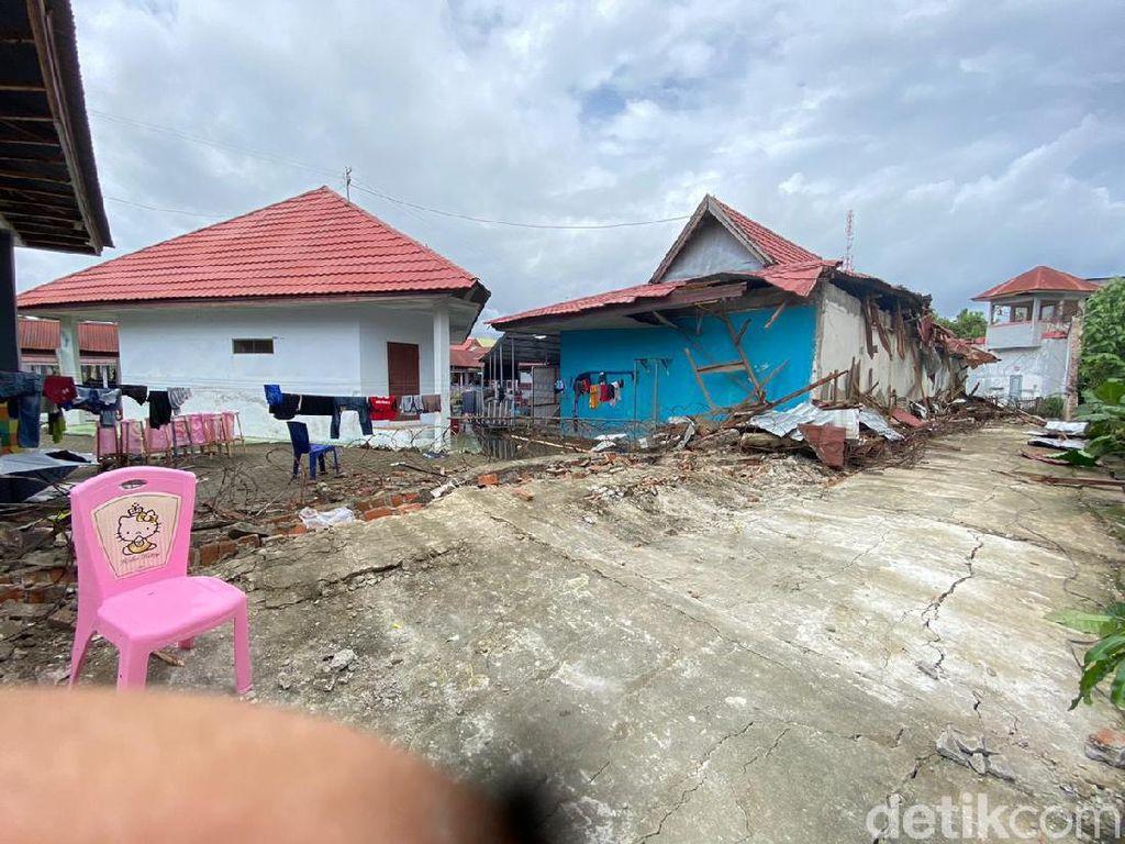 Rutan Mamuju Terdampak Gempa M 6,2: Tembok Roboh-Napi Patah Tulang